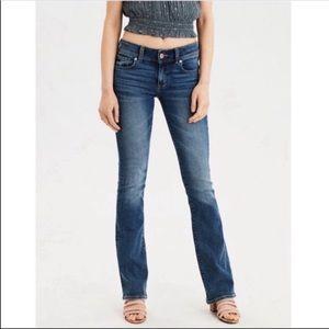 "American Eagle Super Stretch Kick Boot Jeans L31"""